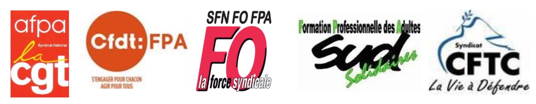 5 syndicats AFPA