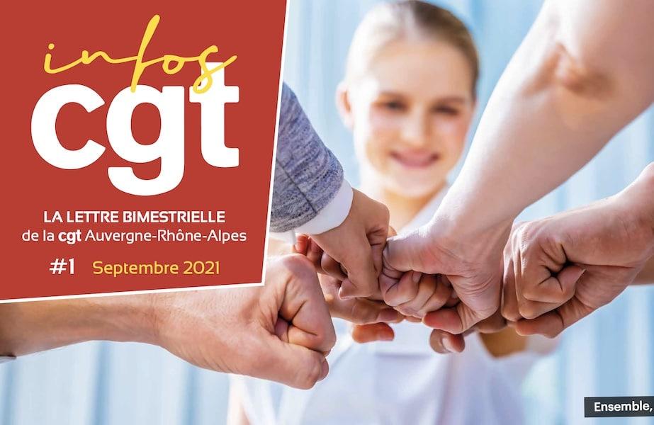 Infos CGT Auvergne-Rhône-Alpes septembre 2021